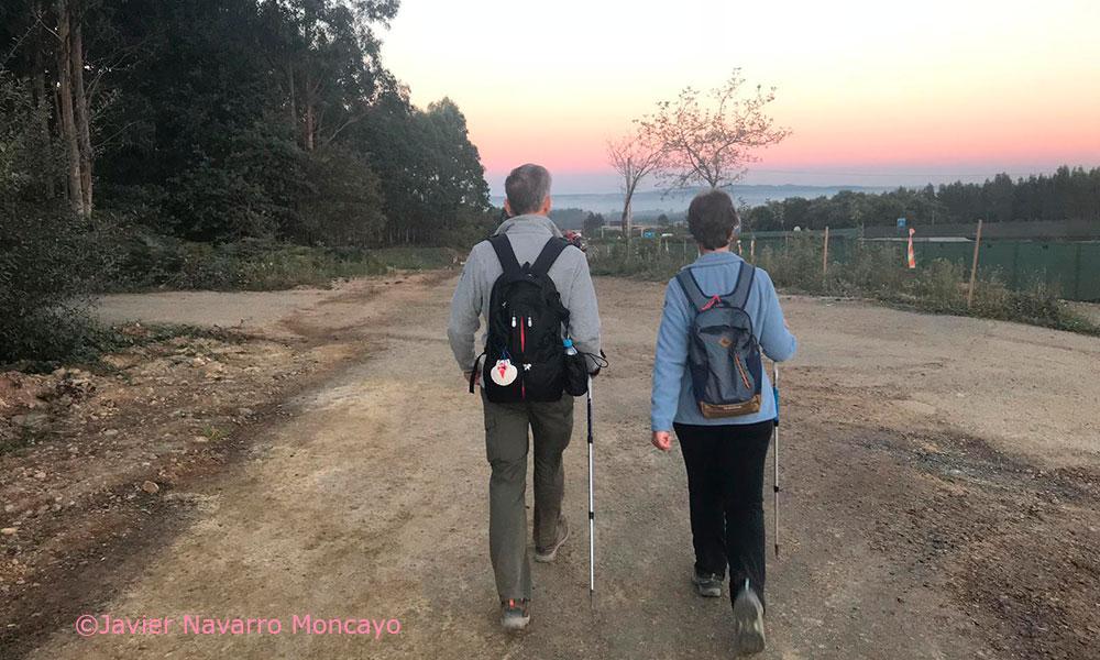 Camino de Santiago: estiramientos para evitar el dolor